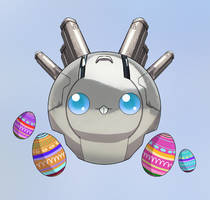 Easter Cyborg by SilvyChan