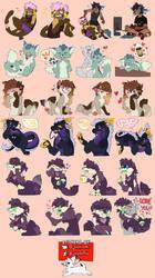 Telegram stickers by Jezebethx