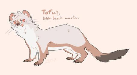 Tofu ref sheet by Jezebethx
