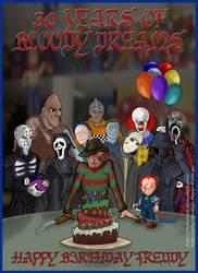 Happy Birthday Freddy Kruger by thebalrock