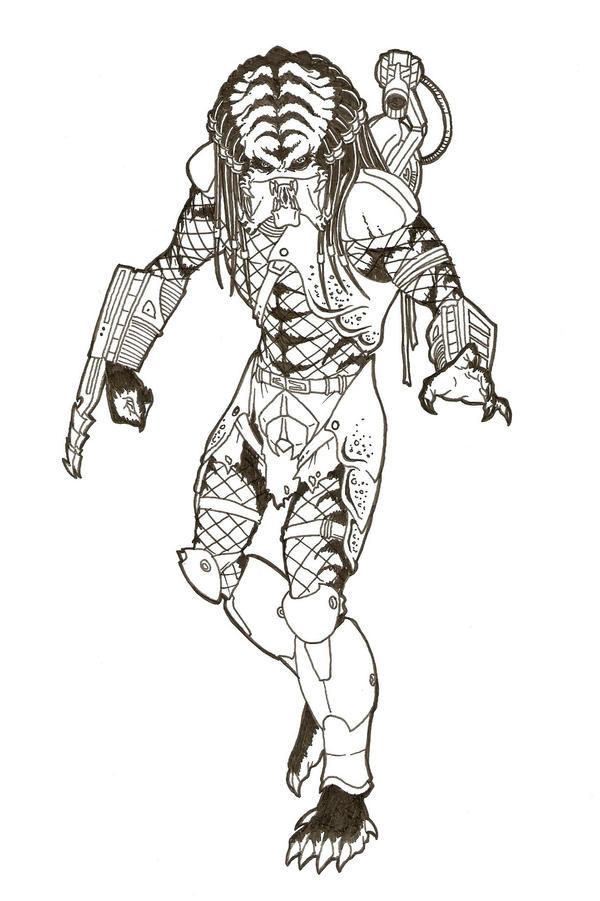 predator coloring pages - photo#19