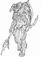 Elder Predator Hunter by Ronniesolano