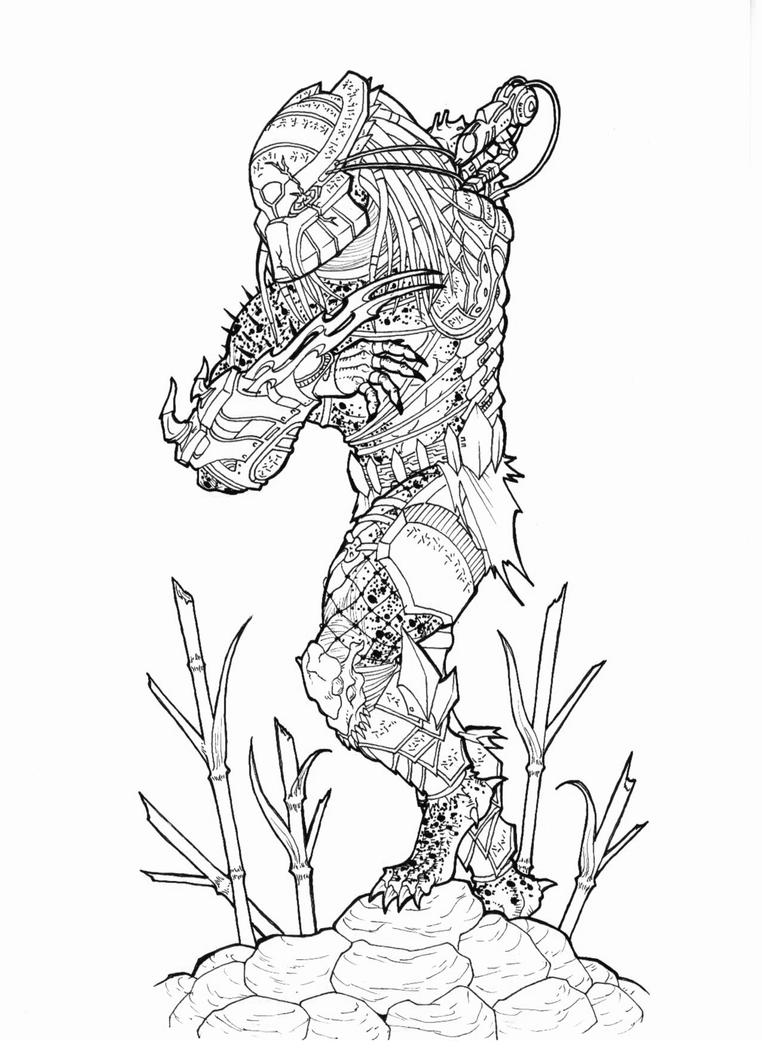 predator coloring pages - photo#27