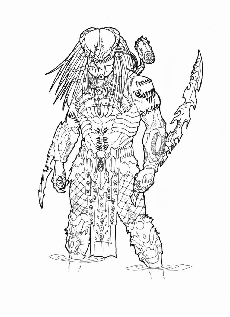 predator coloring pages - photo#30