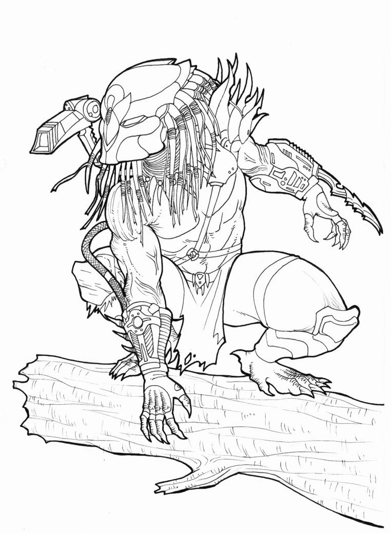 predator coloring pages - photo#32