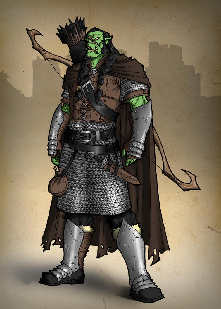 Orc Hunter by Ronniesolano on DeviantArt