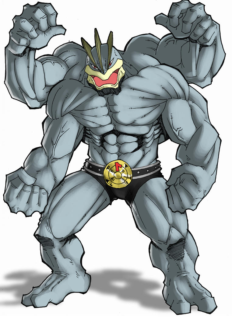 pokedex machamp runs the gauntlet