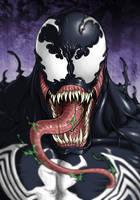 Venom Bust by Ronniesolano