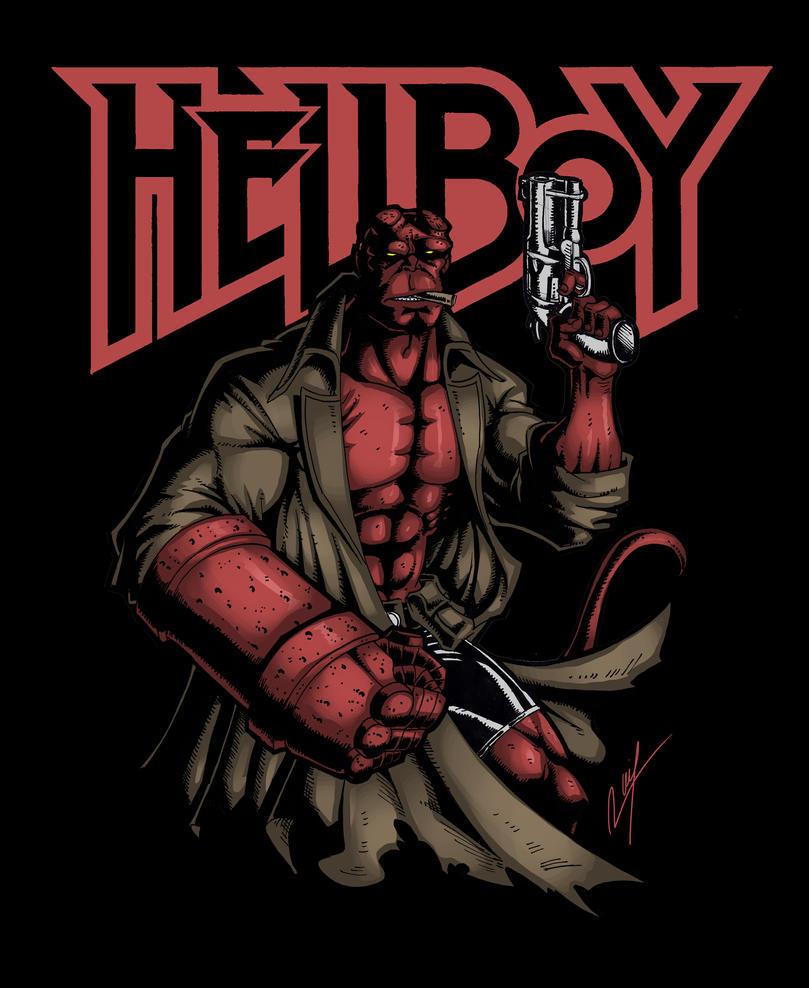 Hellboy by Ronniesolano