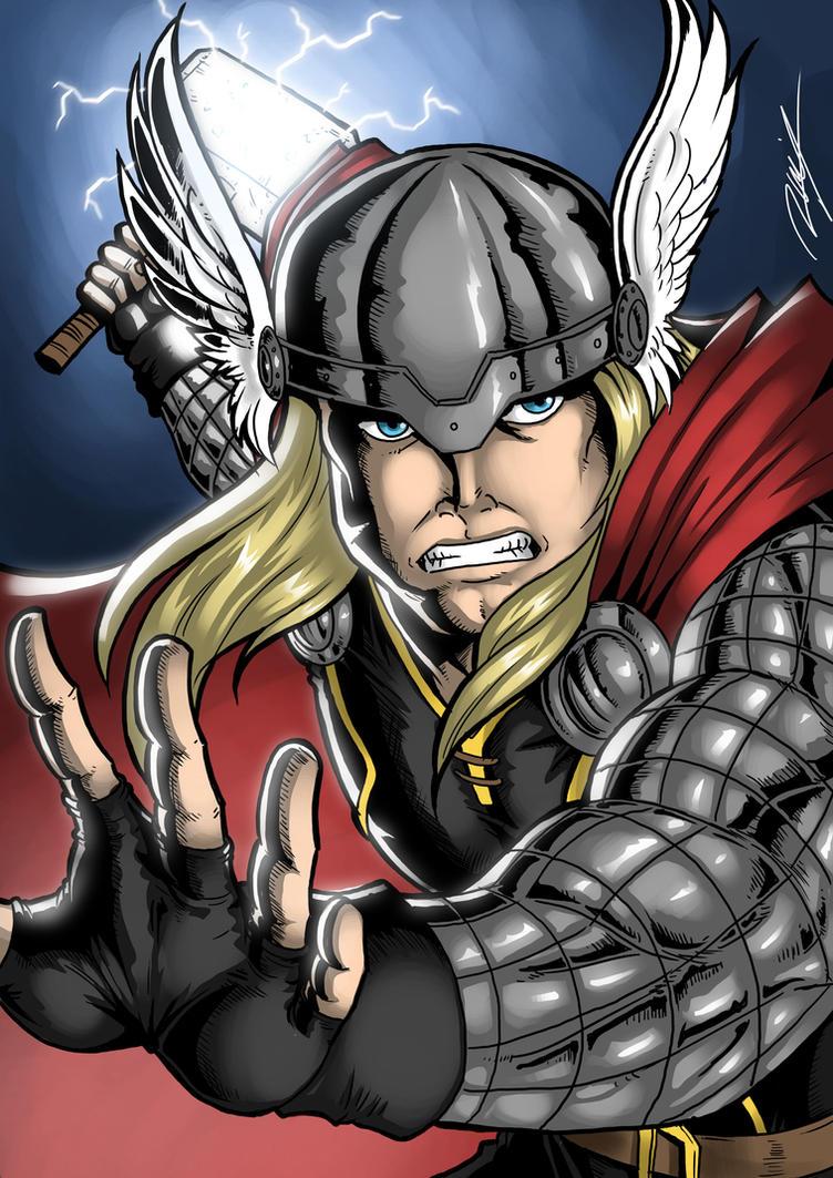 Modern Thor by Ronniesolano