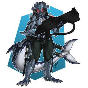 [Commission] Female Aquatic Predator