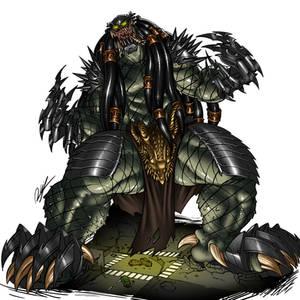 [COMMISSION] Kaiju Predator