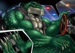 [Commission] Killer Croc Driver