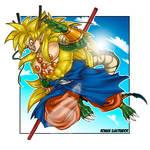 Son Goku Super Dragon God