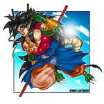 Son Goku Super Saiyan 4 Dragon God Variant