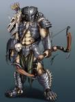 [Commission] Skyrim Predator Bow Hunter