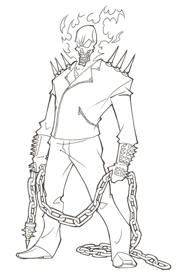 Ghost Rider Coloring Pages To Print Coloring Pages Ghost Rider Coloring Pages