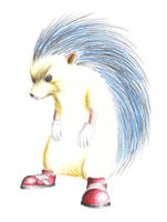Sonic The Hedgehog by Ronniesolano