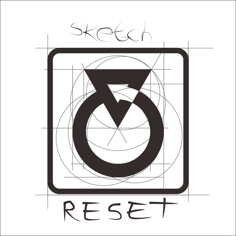 :: Sketch of Reset Logo :: by arimogi