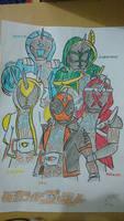 Kamen Rider Ghost fanart