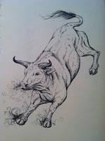 Aatxe the bull spirit
