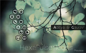 HexaPulse Icons Preview by Gaurav93