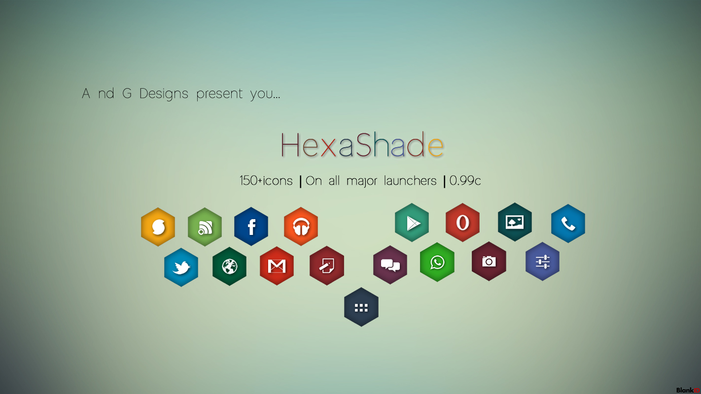HexaShade Icon Pack by Gaurav93