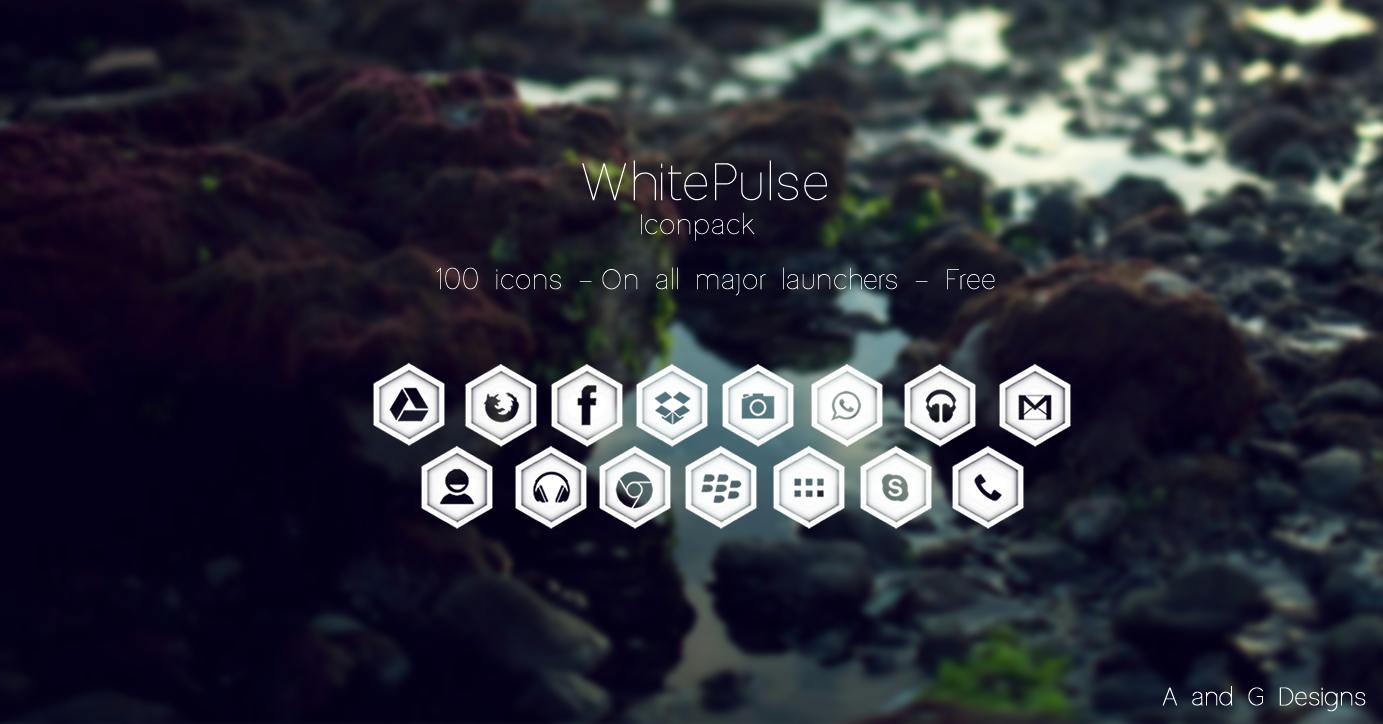 WhitePulse IconPack by Gaurav93