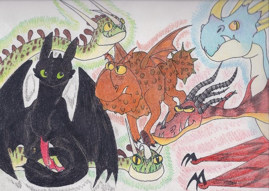 How To Train Your Dragon: Dragons of Berk by FeatherySketchDragon