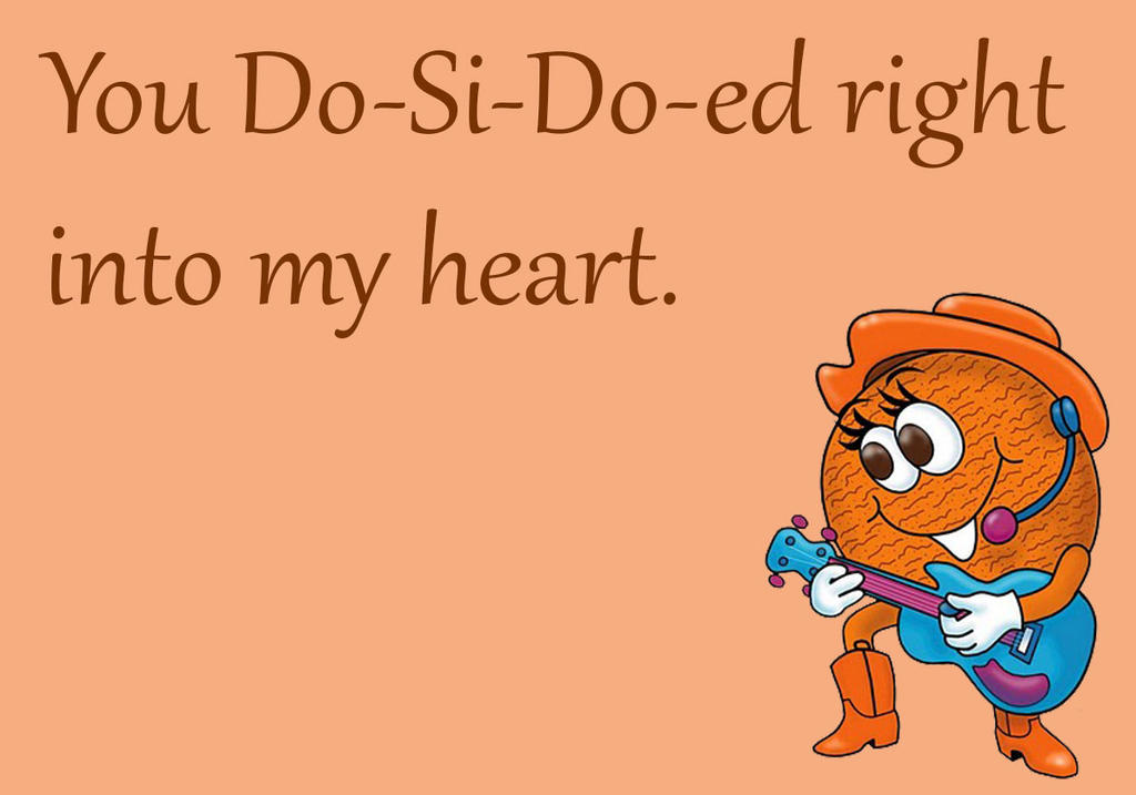 Girl Scout Cookie Cards: Do-Si-Do by goldenConnpass
