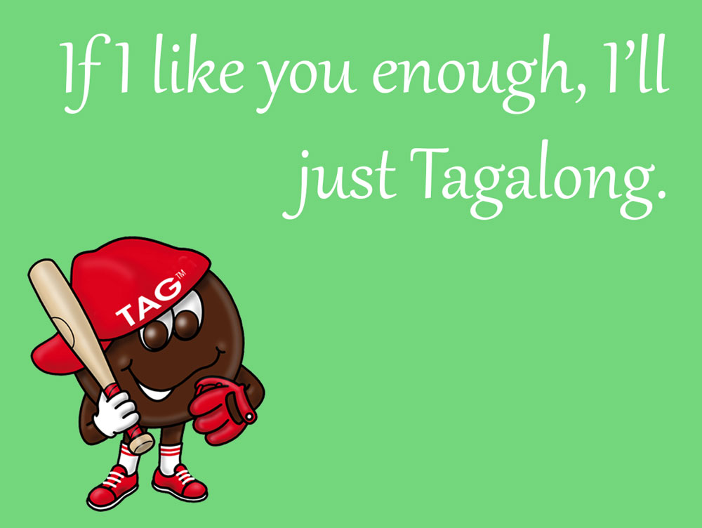 Girl Scout Cookie Cards: Tagalongs by goldenConnpass