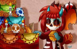 Dia de los muertos by Sonicyss