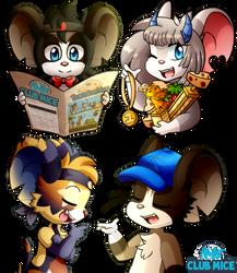 Club Mice! by Sonicyss