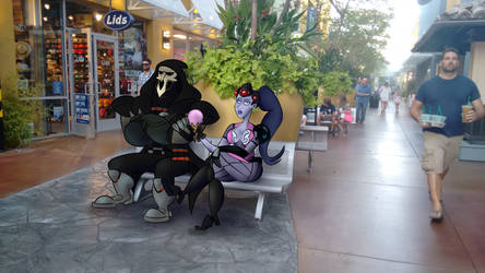 Reaper And Widowmaker Hanging out