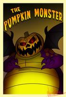 Pumpkin Monster Poster