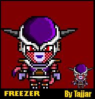 Freezer (DBZ) RPG Maker Sprite by TajjarArt