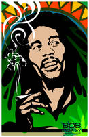 Bob Marley by josephsos