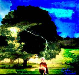 Clint Eastwood Tree Lightening by Rhubarb338
