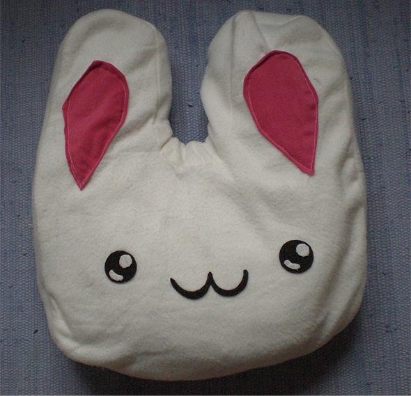 Cute Bunny Pillow : Cute Bunny pillow :2 by karka17 on deviantART