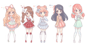 Closed|Auction| chibi point adoptables
