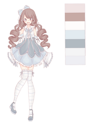 open! Cute adoptable auction by ItsCatilda