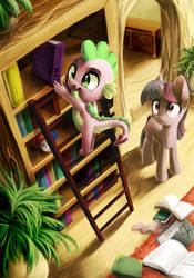 Spike, what are you doing? by LocksTO