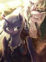 Anna and Siana by LocksTO