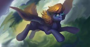 Commission: Cloud Quake by LocksTO