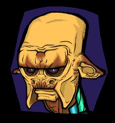 Portrait of an Alien by TheMagicLemur