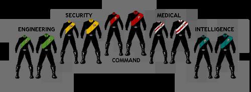Starfleet Military Uniforms by TheMagicLemur