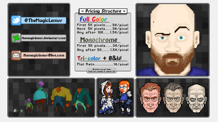 Pixel Art Pricing Guide (and samples) by TheMagicLemur