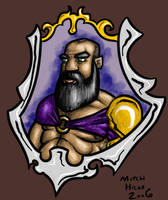 Dwarven Prince by TheMagicLemur