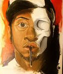 self portrait by delroy26
