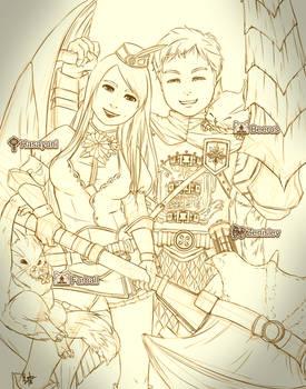Hasayuni x Zenislev MHW Layered Armor Look
